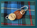 Brown Men's Kilt Pin