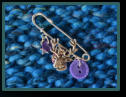 Purple Stag Girl's Kilt Pin