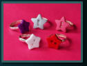 Child's Button Rings - Stars