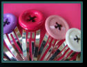 Jumbo Button Hair Clips